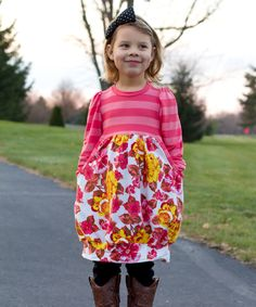 Belinda Dress sewing pattern for girls - So Cute! | The best sewing patterns for women, girls, toys and more. Go To Patterns & Co.