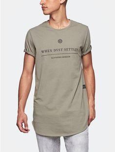 Print T-shirt Green - The Sting