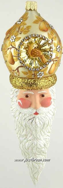 Vendome Claus :: Patricia Breen Ornaments