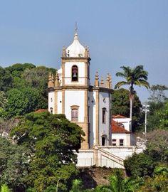 Igreja da Imperial Irmandade do Outeiro da Glória, Rio de Janeiro, estado do Rio de Janeiro, Brasil.