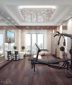 Home gym --> I NEED THIS!!