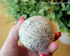 Save Time, Money, and Energy! Make Your Own Wool Dryer Balls | One Good Thing By Jillee