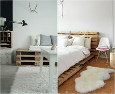 Collage Wooden Pallets
