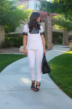 Black and White Style for Summer from The Northeast Girl for TheShoppingMama.com