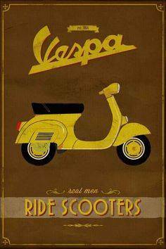 a Vespa for cruising around town