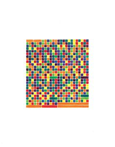 Prelude in d minor (orange), No. D Minor, Color Patterns, Orange, Music, Projects, Musica, Log Projects, Musik, Blue Prints