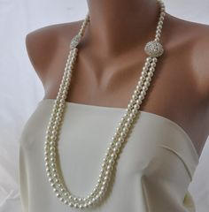 I should wear more pearls.  Might look good with my neck brace