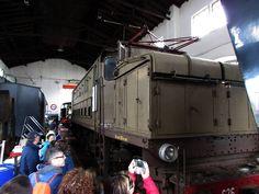 rimessa storica locomotive di Tirano