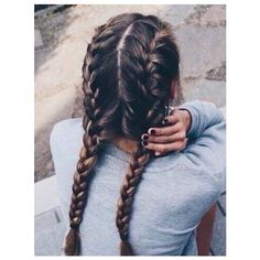 19 LAZY GIRLS HAIRSTYLE DIY IDEAS FOR ALL BUSY MORNINGS AND FANTASTIC... ❤ liked on Polyvore featuring hair