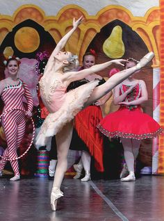 Adrienne Canternaa in a performance of The Nutcracker (photo by XMB Photography)