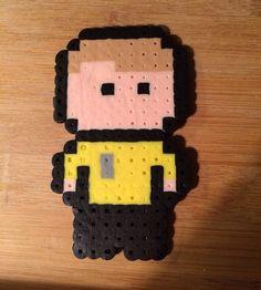 Captain Kirk Perler Bead by ThePinkTurtleLady on Etsy, $3.00