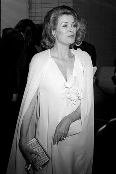 Princess Grace of Monaco attends the Lincoln Centre Tribute to Alfred Hitchcock on April 29, 1974 in New York City.
