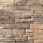 Dutch Quality Sienna Dry Stack Artificial Stone Siding