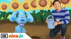 Blue's Clues & You! | Planting a Garden with Blue | Nick Jr. UK