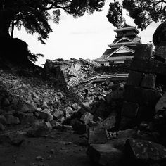 熊本地震 #熊本地震 #熊本城 #kumamotocastle by kan_kaguchi