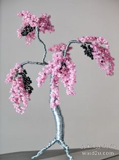 Brilliant DIY Wire Wrap Cherry Blossom Tree Project TutorialAmazing
