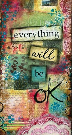 !!TAP AND GET THE FREE APP! Art Quotes Colorful Collage Pattern Scrapbooking Optimistic HD iPhone 5 Wallpaper