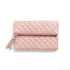 Lysette Quilted Clutch