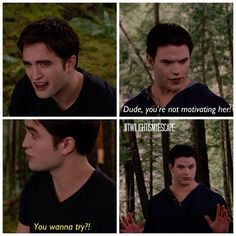 I find this part quite hilarious! Just that look on Edward's face is quite priceless!