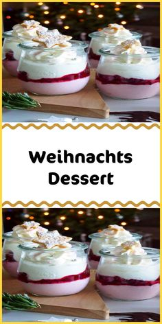 Weihnachts Dessert - Famous Last Words Delicious Cake Recipes, Easy Cake Recipes, Yummy Cakes, Sweet Recipes, Dessert Recipes, Dessert Tarts, Fall Desserts, Christmas Desserts, Mousse