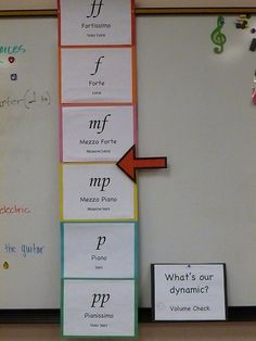 Awesome idea for sound levels in a music classroom! Definitely using this one this year!