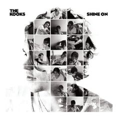 "Be super-clever by making up shapes on your yearbook cover using photos. ""The kooks: shine on"" album cover Graphic Design Posters, Graphic Design Inspiration, Typography Design, The Kooks, Yearbook Design, Yearbook Layouts, Yearbook Staff, Yearbook Ideas, Album Design"