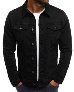 Denim Jeans, Moda Jeans, Ripped Denim, Denim Shirt, Black Jeans, Denim Jacket Fashion, Denim Jacket Men, Denim Coat, Jackets Fashion