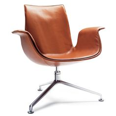FK LOUNGE CHAIR designed by Preben Fabricius and manufactured by Walter Knoll.