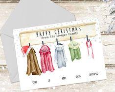 Custom Christmas Cards, Family Christmas Cards, Personalised Christmas Cards, Christmas Photos, Merry Christmas, Christmas Crafts, Button Family Picture, Family Picture Frames, Personalised Family Tree