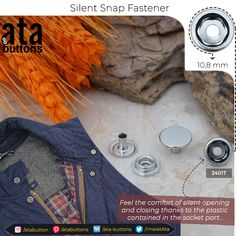 We have created a new snap button model by attaching plastic rings into the socket part that minimizes the opening and closing sound of the socket and the stud intervening into one another. Silent snap fasteners are mainly used for military and hunting materials  #Textile #atabuttons #snapbuttons #prongsnapbuttons #accesorries #textileaccessories #Turkey #silentsnapfastener #silentfastener