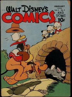 KK Publications Walt Disney's Comics and Stories 53 VG 4 5 Barks Art US Only | eBay