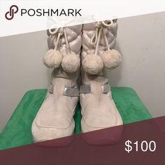 Tan coach snow boots Coach tan boots Coach Shoes Winter & Rain Boots