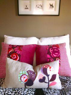 Lindas almofadas!   by pinklemonadeboutique