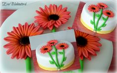 cake with flowers - dort s květinami
