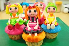 Lala Loopsy Gumpaste Tutorial. These dolls will be my first shot at working with fondant!! Wish me luck lol