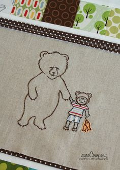 bear cub. Would have loved this for Sam, we did a bear theme for him when he was a baby