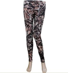 """$17.99 NATURAL OUTDOORSEY CAMO PRINT STRETCH LEGGINGS ~  Leggings are one of the hottest fashion trends.  They are easy to wear, comfortable & can be worn with a wide range of tops, shoes & accessories. Nothing says Rustic like camo print leggings.    - Super stretch with elastic waistband - Smooth polyester-like feel on the outside - Approximately 28"""" inseam - 85% Cotton, 15% spandex and polyester   One size fits most average size women sizes S-XL - These would fit juniors sizing S-2XL"""
