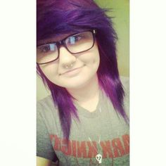 I dyed my hair purple!!