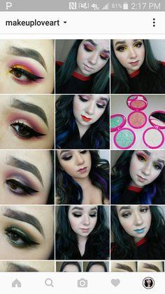 Follow me on instagram: Makeuploveart