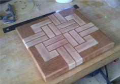End Grain Cutting Board (first attempt)