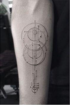 Tatto Ideas 2017  Le top du tatouage géométrique : 13 tatouages...