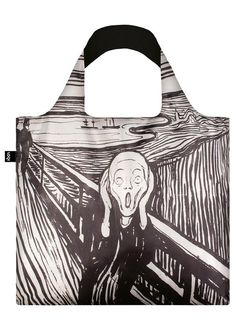 LOQI MUSEUM Collection – Edvard Munch, The Scream Bag