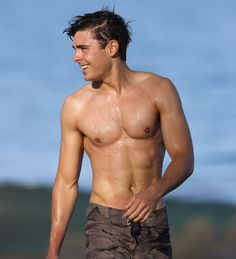 Zac Efron - he may be young, but wow he's hot!