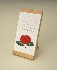 とらやブログ: とらやカレンダー2015 Table Calendar, Art Calendar, Calendar Design, Desk Calendars, Desktop Calendar, Packaging Design, Branding Design, Shape Collage, Origami