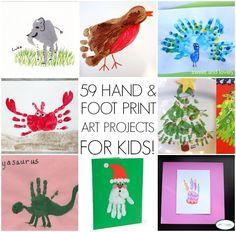 handprint art ideas by colette