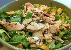 Panera's Asian Sesame Chicken Salad