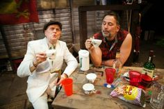 "Richard Louis James, Brian Dykstra in ""Jerusalem"" at the San Francisco Playhouse."