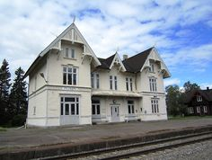 Train Station  in Åsnes municipality in Hedmark. Architect Paul Armin Due built in1893 Norway