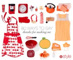 80 ways to say:  thanks for making m3