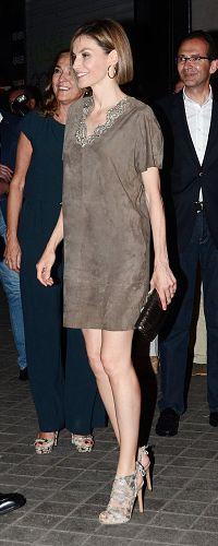 Queen Letizia 14 May 2015 - FameLab competiton